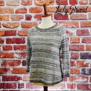 Lucky Brand Knit Crewneck Sweater